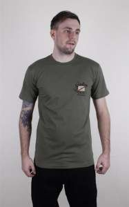 Koszulka FALLEN F14 Majestic Surplus Green