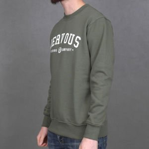 Bluza Nervous Champ Fa16 Back To Olive