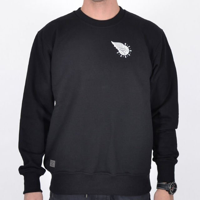 Bluza Nervous Crew Fa17 Wing Black