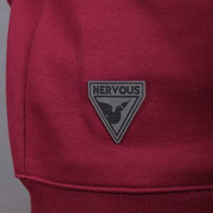 Bluza Nervous Crew Sp16 Back To maroon