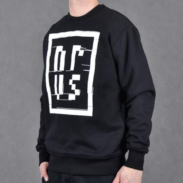 Bluza Nervous Crew Sp17 TV Noise blk
