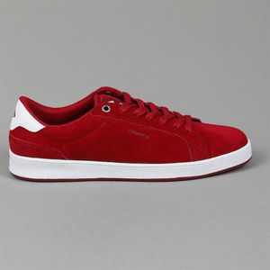 Buty EMERICA S15 The Leo Dos Burgundy White