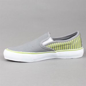 Buty damskie CIRCA 50 Lopez Slips Charcoal/Green Stripes