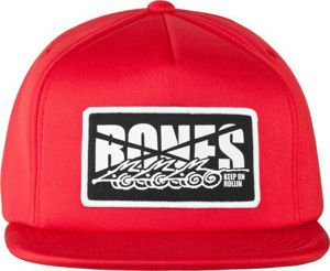 CZAPKA BW FOAM TRUCKER ROLLIN RED