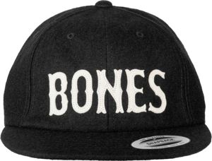 CZAPKA SNAP BACK BONES WOOLY BLACK