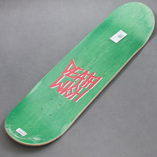 DECK DEATHWISH GANG LOGO BLK/RED 8,47