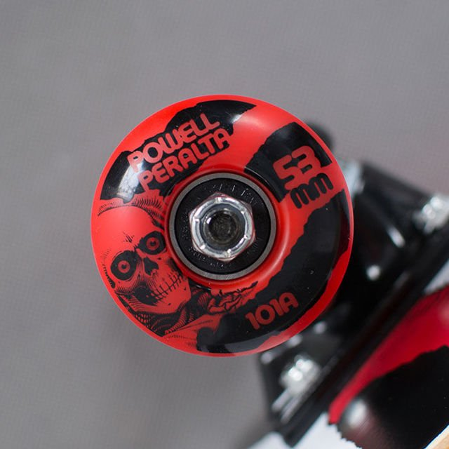 "Deskorolka Pp Ripper One Off 8,0"" 127 K12 Wht/Red"
