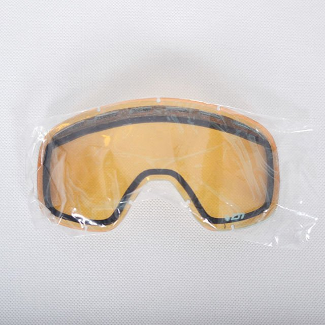 Gogle DRAGON D1 Solid Grey/Ion+Amber RL
