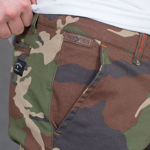 Szorty Nervous SP17 Chino Camo