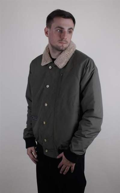 TURBOKOLOR STRAGGLER BOMBER MILITARY GREEN