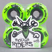 Koła Bones Rough Riders 59 Green 4pk Bones All Terrain Formula -1