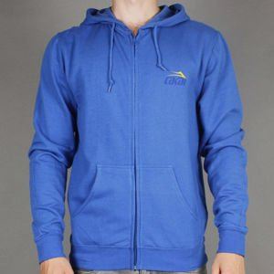 BLUZA LAKAI S14 TONAL ZIPHOOD ROYAL