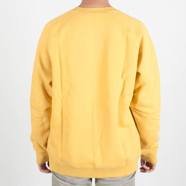 Bluza Carhartt Crew Chase Quince/Gold