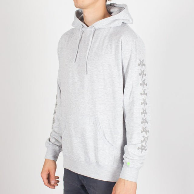Bluza Independent Hood Thrasher Pentagram Cross Gre D2 Hth