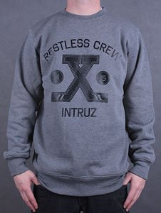Bluza Intruz Crew X grey