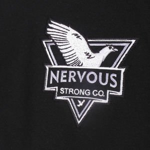 Bluza Nervous Crew Fa16 Mighty Dove blk