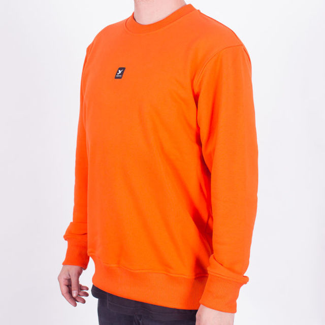 Bluza Nervous Crew Nd SS19 Icon Orange
