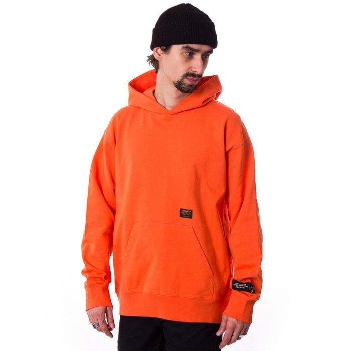 Bluza męska z kapturem Carhartt WIP Hooded Military Tape pepper / black