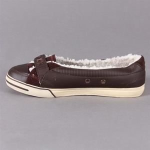 Buty Damskie DVS Farah Slip Brown/Leather Sherpa