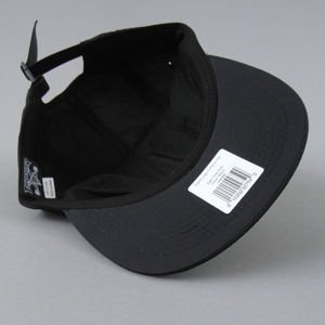 CZAPKA THRASHER 5-PANEL FLAME LOGO BLK