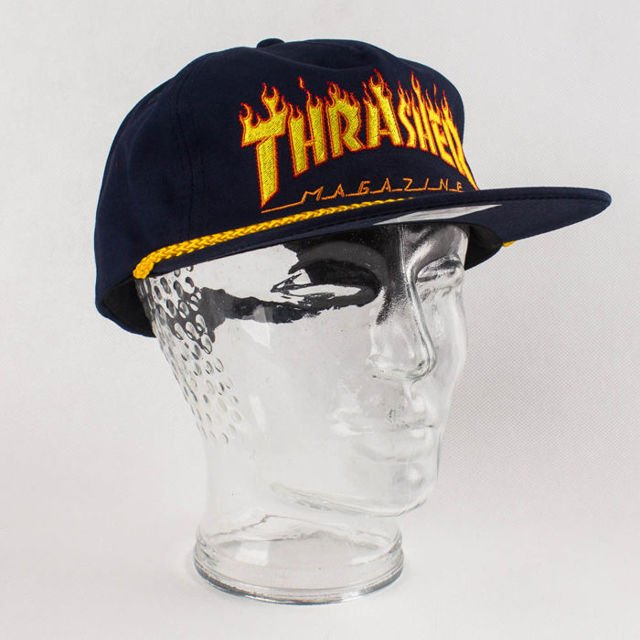 Czapka Thrasher Flame Rope Snap Nvy