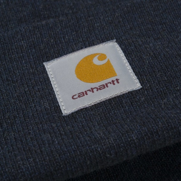 Czapka zimowa Carhartt WIP Watch Hat dark navy heather