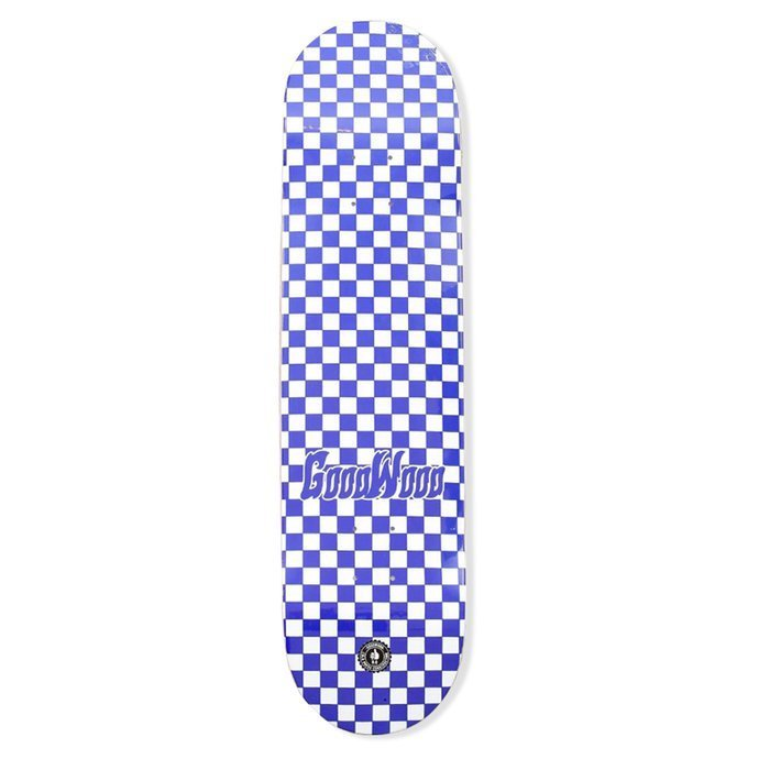Deska Goodwood Checker Blue And Wht 8.13