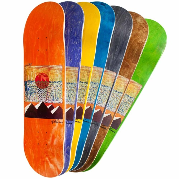 Deska Youth Skateboards Pyramids Random Color Layer