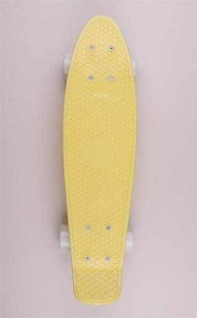 FISH SKATEBOARDS CRUISER CLASSIC FISH S.YELLOW/WHT/WHT