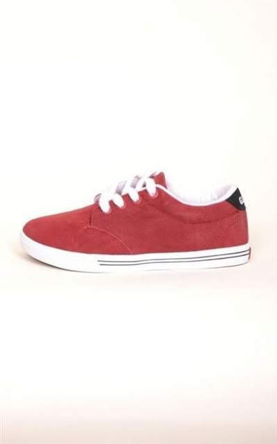GLOBE BUTY LIGHTHOUSE SLIM KIDS DARK RED