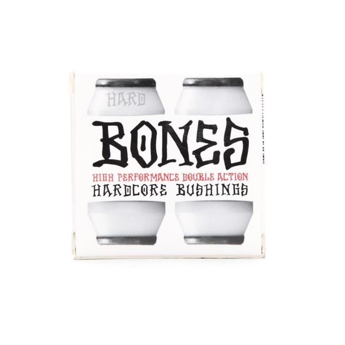 Gumki BONES Hardcore Bushings White/Black Hard