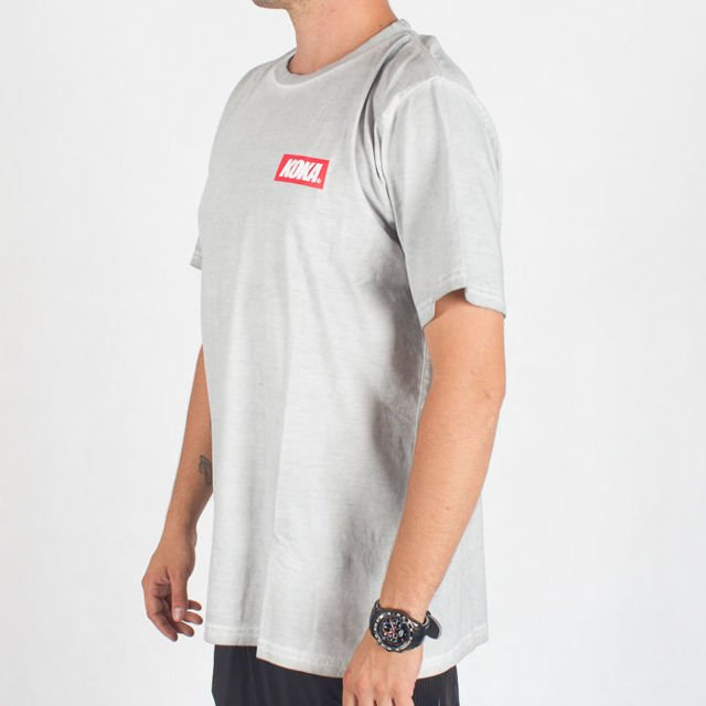 Koszulka Koka Mini Boxlogo Prew Light Grey