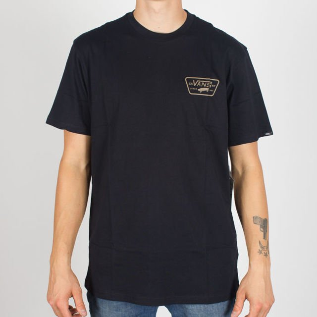 Koszulka Vans Full Patch  Black Ss Blk/Dirt