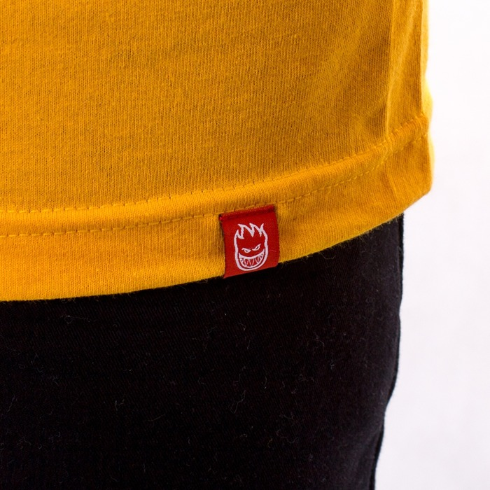 Longsleeve męski Spitfire Big Head yellow / white HO19