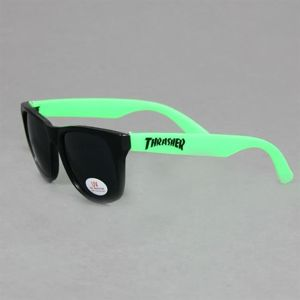 Okulary THRASHER Beer Goggles Black Green