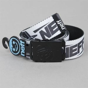 Pasek NEFF F13 Kenni Belt White Black
