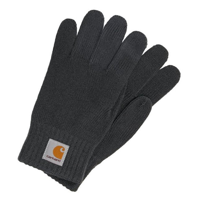 Rękawiczki Carhartt WIP Watch Gloves dark grey heather
