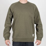 Bluza Carhartt Crew Holbrook cypres hth