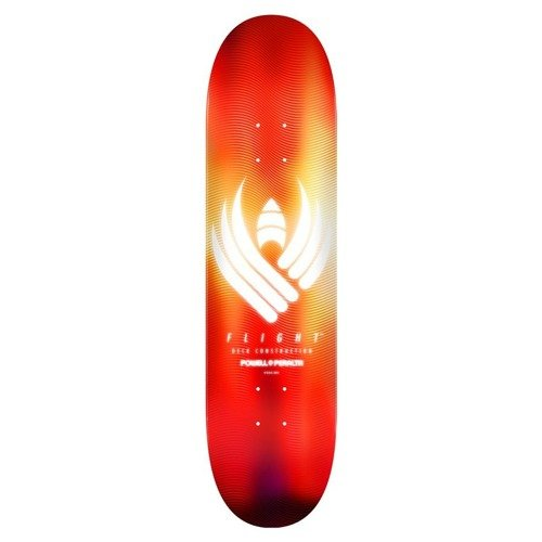 "Deska Powell Peralta Flight® 242 Glow 8.0"" x 31.45"" red"